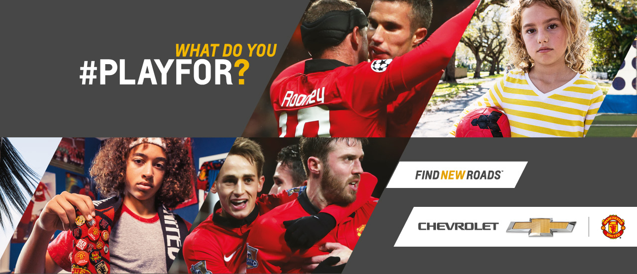 Chevrolet Asks the World, 'What Do You #PlayFor?'